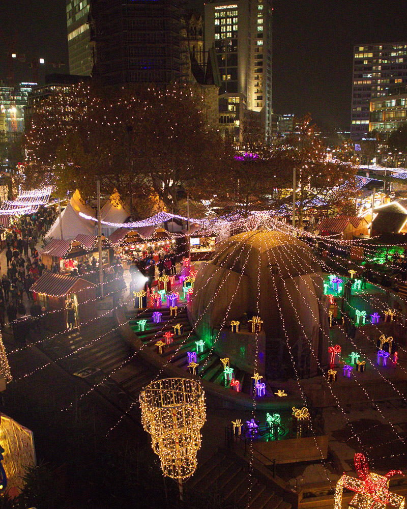 Weihnachtsmarkt an der Gedächtniskirche 2019