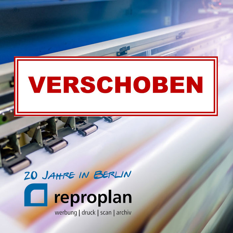 CITY TALK REPROPLAN oHG – VERSCHOBEN